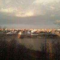 Photo taken at Саввинский пруд by Светлана А. on 4/24/2014