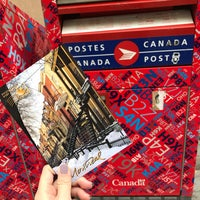 Photo taken at Postes Canada Post by arieslow. on 11/1/2017