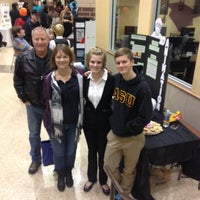 Photo taken at Heritage High School by Beth S. on 12/12/2013