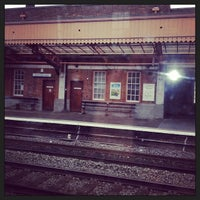 Photo taken at Leamington Spa Railway Station (LMS) by Clare B. on 2/3/2014