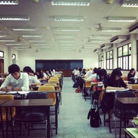 Photo taken at Chulalongkorn Business School by Tanawat N. on 2/17/2013