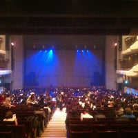 Photo taken at Orchard Hall by Taishi K. on 1/13/2013
