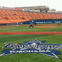 Photo taken at Yokohama Stadium by Hiroyuki T. on 10/30/2012