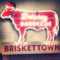 Photo taken at Delaney Barbecue: BrisketTown by Gabs S. on 12/16/2012