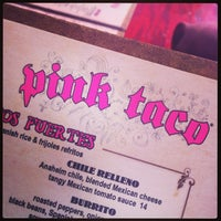 Photo taken at Pink Taco by Jeff L. on 6/15/2013