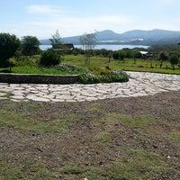 Photo taken at Lake Naivasha Kongoni Lodge by Reinp M. on 1/24/2014