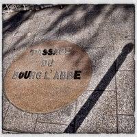 Photo taken at Passage du Bourg-l'Abbé by Didier L. on 10/7/2012
