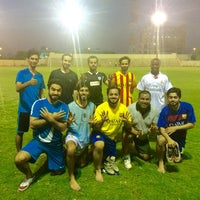 Photo taken at Rusayl Football Ground by Harith A. on 9/29/2015