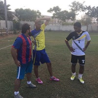Photo taken at Rusayl Football Ground by Harith A. on 9/8/2015