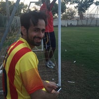 Photo taken at Rusayl Football Ground by Harith A. on 10/27/2015