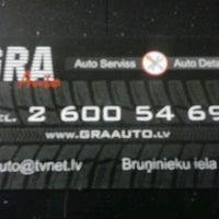 Photo taken at GRA Auto by Gunārs Ā. on 4/11/2014