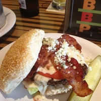 Photo taken at Bobby's Burger Palace by Colleen P. on 7/19/2013