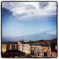 Photo taken at Taodomus Hotel Taormina by Sabrina G. on 8/27/2013