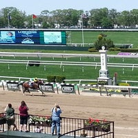 Photo taken at Belmont Park Racetrack by Gina Q. on 5/19/2014