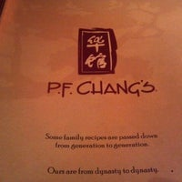 Photo taken at P.F. Chang's by Michael C. on 10/13/2012