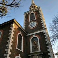 Photo taken at St Mary's Rotherhithe by Eric R. on 11/22/2016