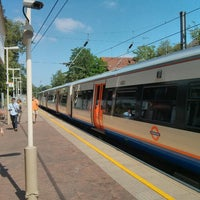 Photo taken at Hampstead Heath London Overground Station by Eric R. on 7/8/2013