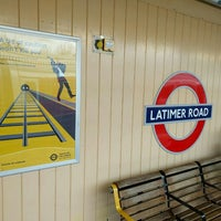 Photo taken at Latimer Road London Underground Station by Eric R. on 12/18/2015