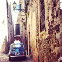 Photo taken at Sant'Angelo in Vado by Maicontenta on 8/14/2014