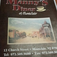 Photo taken at Manny's Diner by Lily M. on 6/24/2013