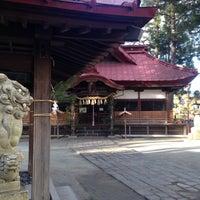 Photo taken at 八王子神社 by Rafael S. on 12/30/2015