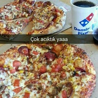 Photo taken at Domino's Pizza by Merve K. on 4/6/2016