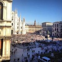 Photo taken at Palazzo dei Giureconsulti by Karina M. on 4/13/2013