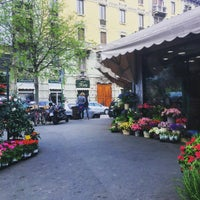 Photo taken at Mercato comunale di Piazza Wagner by Karina M. on 4/8/2016