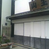 Photo taken at 山王 山車蔵 by Yutaka K. on 5/27/2013