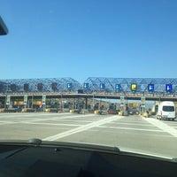 Photo taken at Σταθμός Διοδίων Ελευσίνας by Myrto 😻 K. on 7/28/2014