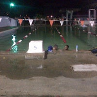 Photo taken at St. Mary's College Grounds & Pool by Michol C. on 3/12/2013