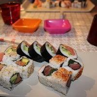 Photo taken at Origami Sushi Bar by Yosr B. on 2/27/2013