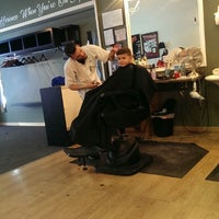 Photo taken at Top of the Line Barbershop by Zuleida N. on 2/11/2014