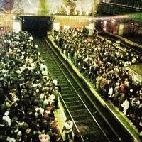 Photo taken at Estação Palmeiras-Barra Funda (CPTM) by Denis W. on 5/29/2013