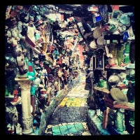 Photo taken at Philadelphia's Magic Gardens by mitzanator on 10/2/2012