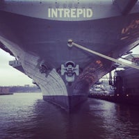 Photo taken at Intrepid Sea, Air & Space Museum by Ben G. on 4/11/2013