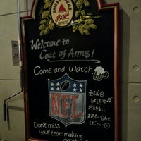 Photo taken at Coat of Arms Pub & Restaurant by i_kimochi on 10/3/2014
