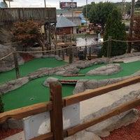 Photo taken at Professor Hackers Lost Treasure Golf by Bryan on 7/19/2014
