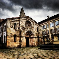 Photo taken at Colexiata de Santa María do Campo by Leo M. on 1/5/2014