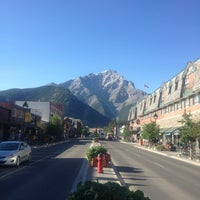Photo taken at Town of Banff by Wendell C. on 7/4/2013