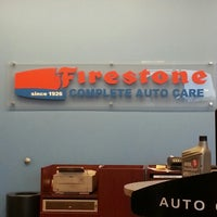 Photo taken at Firestone Complete Auto Care by Bret W. on 2/18/2013
