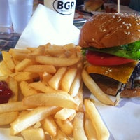 Photo taken at BGR - The Burger Joint by Tunde O. on 8/13/2013