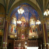 Photo taken at Cathedral of the Madeleine by sean c. on 3/4/2013