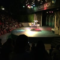 Photo taken at Crystal Beach Anfi-theatre by Ann M. on 7/19/2016