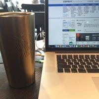 Photo taken at Starbucks by Jackie L. on 4/28/2015