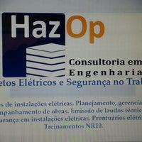 Photo taken at Hazop Construções Elétricas by Gabriel M. on 3/14/2014