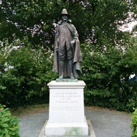 Photo taken at William Bradford Statue by Meghan G. on 7/28/2014