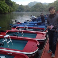 Photo taken at おりきさわボート by Kazuyuki Y. on 5/5/2013