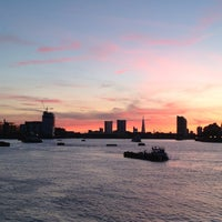 Photo taken at Greenwich Pier by Carole P. on 6/4/2013