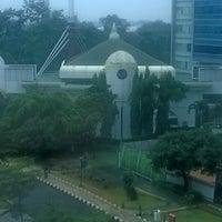 Photo taken at Masjid As Salam Kementerian Pekerjaan Umum by Mungkas S. on 3/14/2014